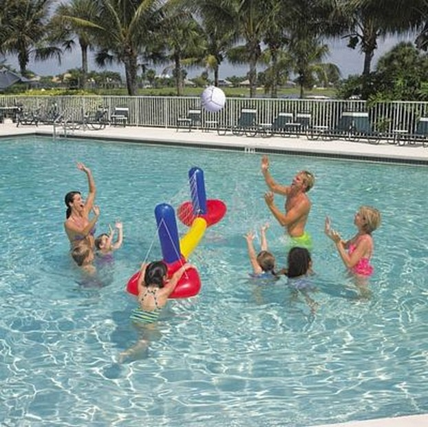Rete gonfiabile da pallavolo per piscina mare bestway spiaggia ebay - Rete pallavolo piscina ...