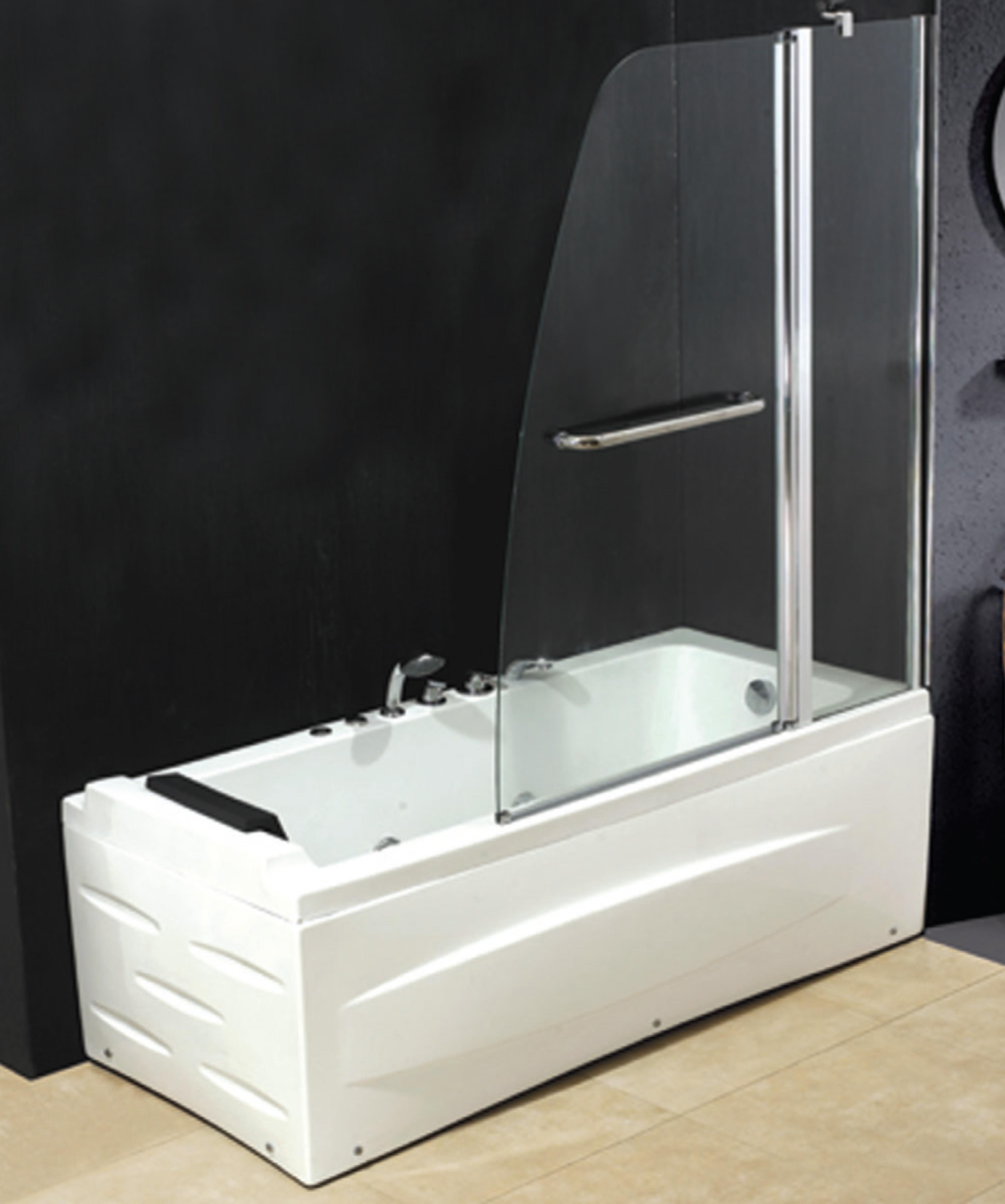 Parete vasca da bagno box doccia mm 6 profilo - Box per vasca da bagno ...