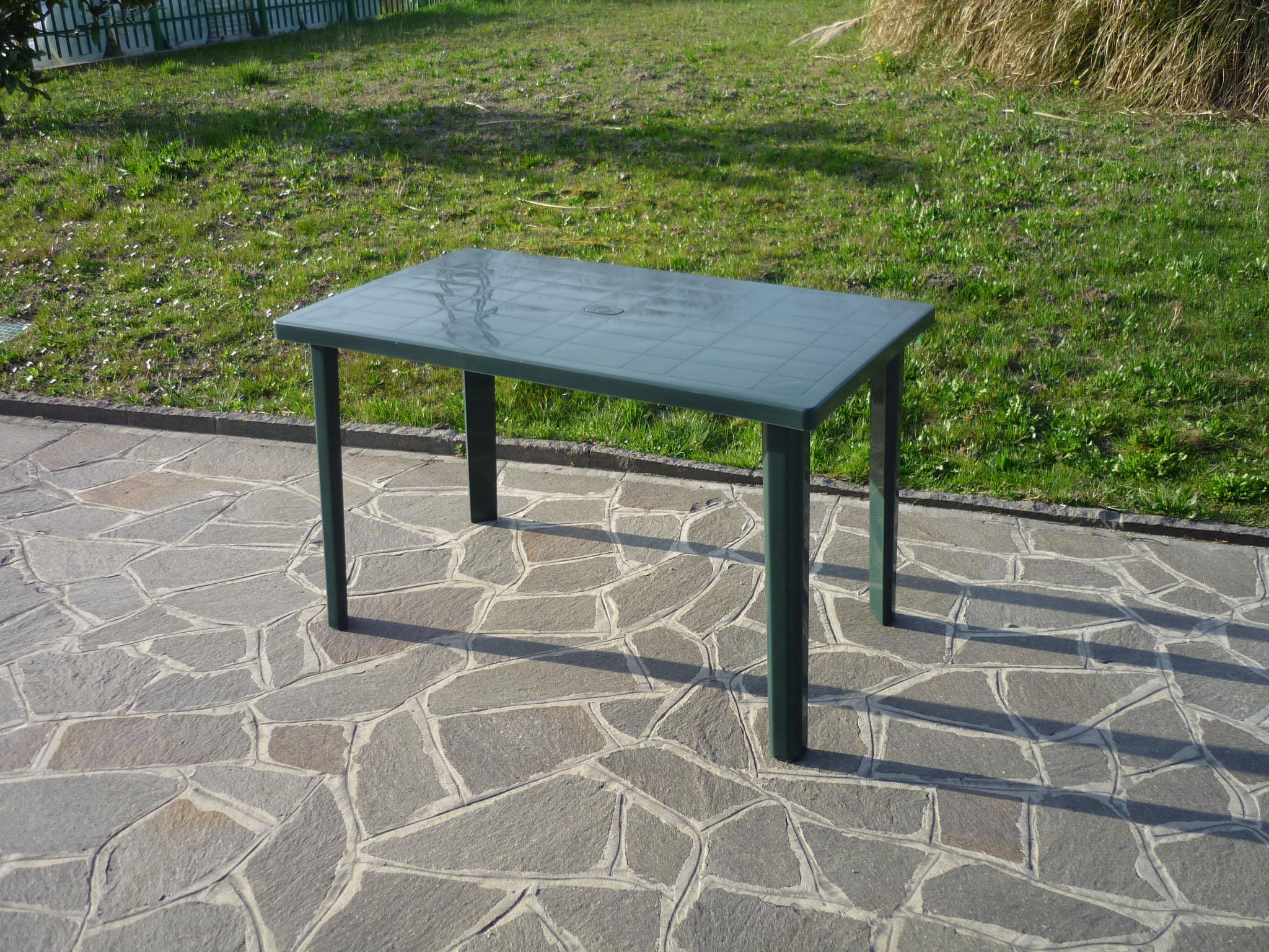 Tavolo Da Giardino In Plastica Verde.In 120x70 Tavolo Da Cm Antiurto Tavolo Antiurto Plastica Giardino