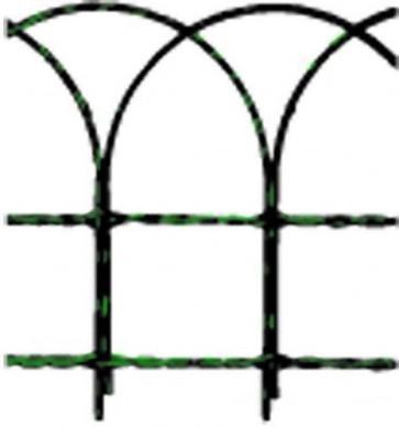 Rete ornamentale cavallino plasticata verde mt 10 - h 40 cm