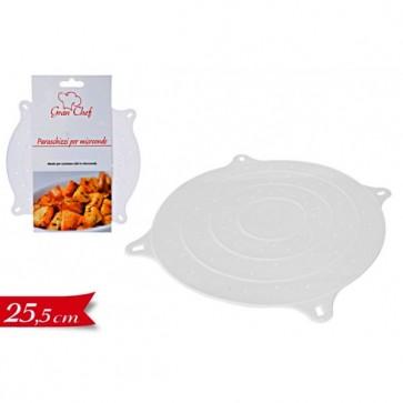 Coperchio paraschizzi per microonde cm 25,5 accessori cucina pulizia