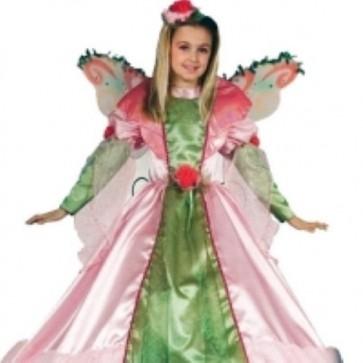 Ciao costume principessa del bosco 4/6 anni vestito carnevale