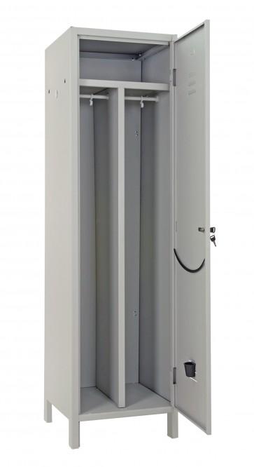 Armadio  in lamiera verniciata con serratura sporco/pulito 1anta cm.175x50x50