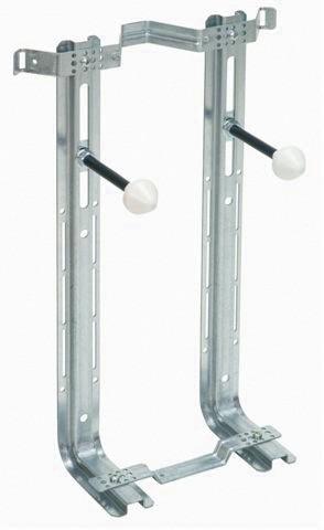 Staffa universale per wc e bidet sospeso