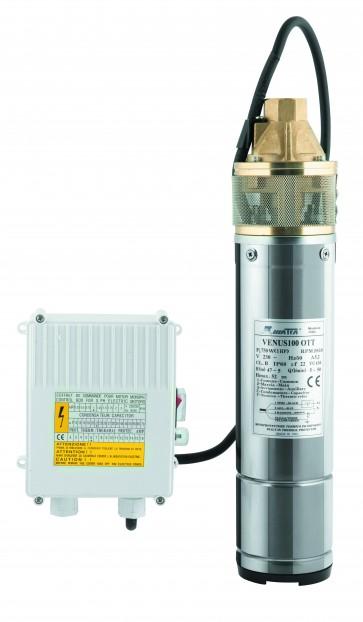 Elettropompa sommersa hp 1,0 venus 100/ott per acque chiare