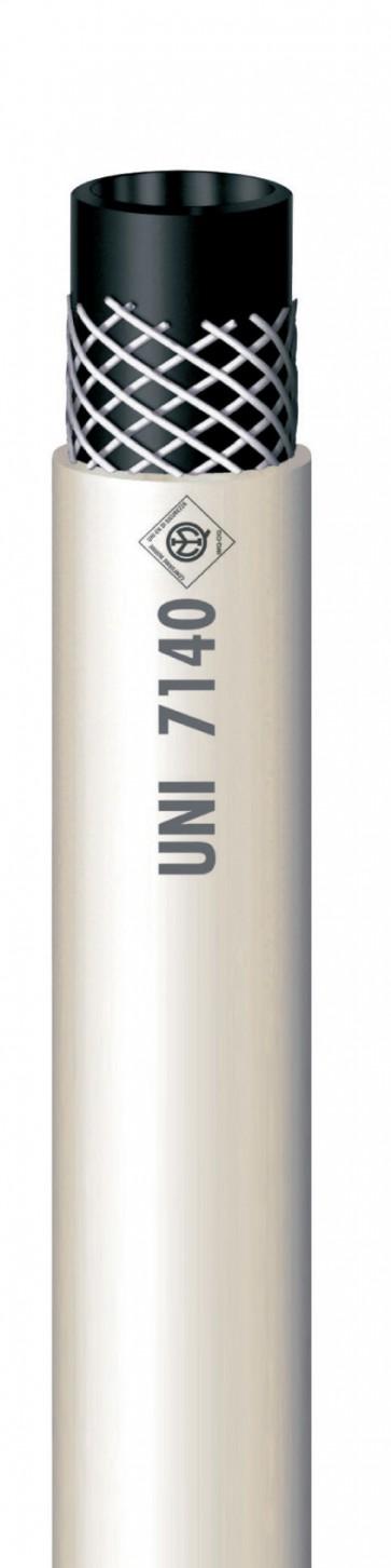 Ml 50 -  mt 50 tubo gomma per metano 'imq'gr.13x20