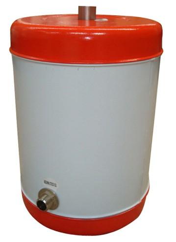 Serbatoio/galleggiante carico acqua x pannello solare termico