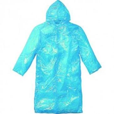 Impermeabile plastica taglia unica anti pioggia vento 60x80 colori ass