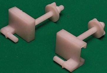 Cf 20 -  fissaggio universale in plastica x w.c.**