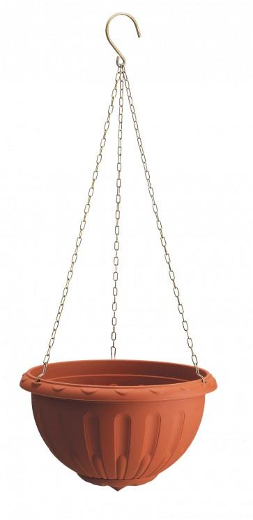 Vaso in plastica pensile 'basketstella'30x18h