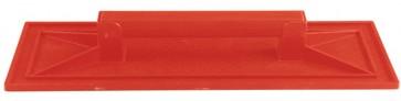 Frattone plastica arancio cm.15x45