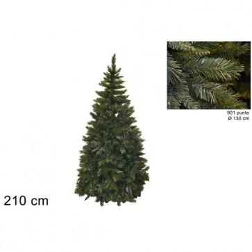 Albero di natale 210 cm pino del pollino verde folto realistico