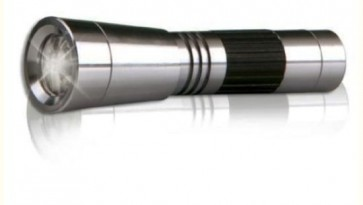 Grundig torcia alluminio 3 led luce tascabile portatile