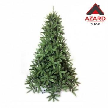 Albero di Natale 240 cm verde molto folto realistico artificiale 1800 rami