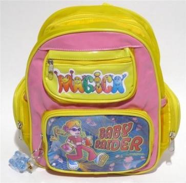 Zainetto magica baby raider bambina scuola asilo regalo
