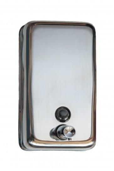Distributore inox sapone liquido lt.1,2