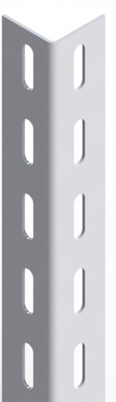 Angolare a bullone x scaffale ufficio in metallo colore grigio da mt.2,5