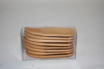 Cucchiaini in bamboo per finger food display novità cucina sushi aperitivi 8 pz