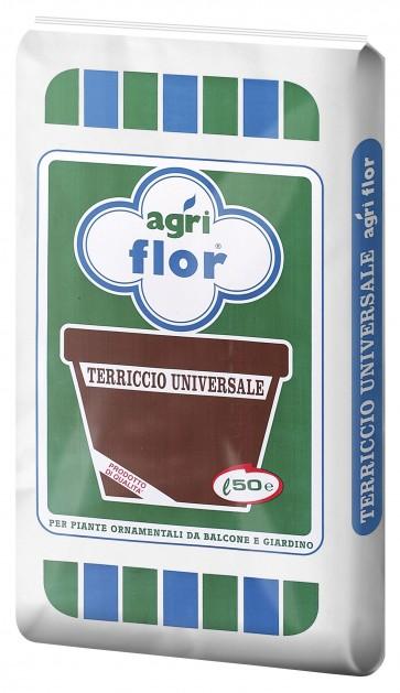 Terriccio universale lt. 50 per ortocoltura e floricoltura