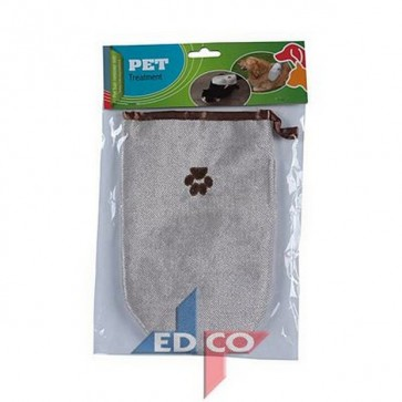 Guanto tolettatura spazzola pulizia pelo cani e gatti igiene accessorio animali
