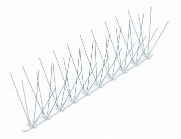 Dissuasori x volatatili cm.50-40 spilli base policarbonato