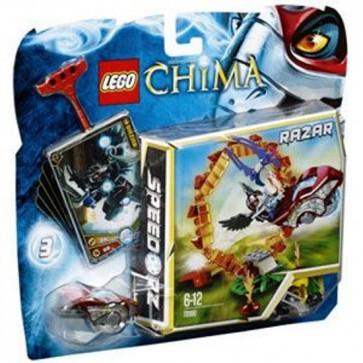 Costruzioni lego chima minifigures cerchio di fuoco 70100 gioco abilità bambino