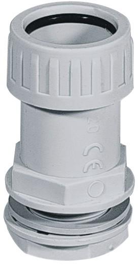 Ec bloccatubo ip65 tubo/scatola dm.20(pz.2)