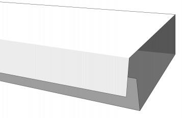Minicanalina ades.c/cop.integ.20x10 h.200