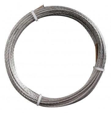 Pl 6 -  cavetto acciaio 36f d. 3 (ml.10)**