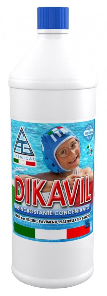 Disincrostante 'dikavil' per piscine lt.1