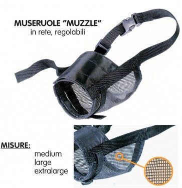 Museruola muzzle net medium