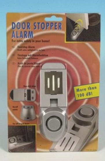 Fermaporte con allarme 100 db 14x5 cm allarmato sicurezza casa ufficio