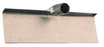 Raschiafango zincato cm.40 spess.15/10