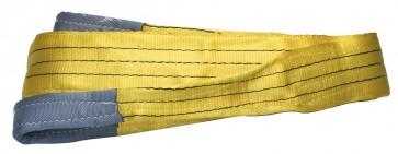 Cinghia di sollevam. mm.90 mt.5 3000 kg.gial