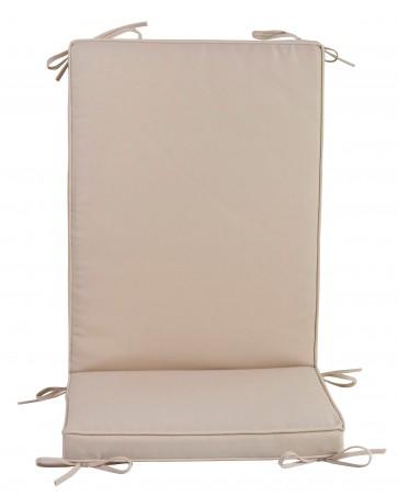 Pz 4 -  cuscino 'box' schienale medio ecru