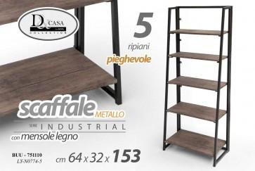 Scaffale 5rip 64 * 32 * 152,5 ly-n0774/5