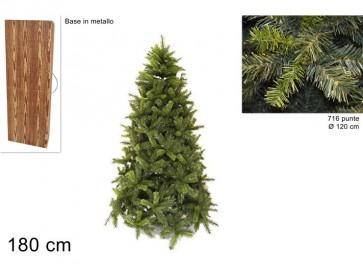 Albero di natale pino lucano cm180