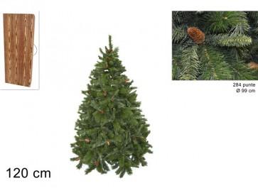Albero di natale pino russo cm.120284 rami