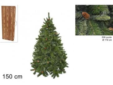 Albero di natale pino russo cm.150506 rami