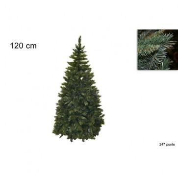 Albero di natale pino del pollino h.120 rami 247 molto folto