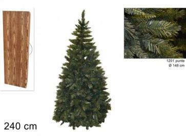 Albero di natale pino del pollino cm.240 1200 rami