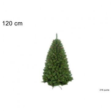 Albero natale pino montreal h.120cm 216 rami