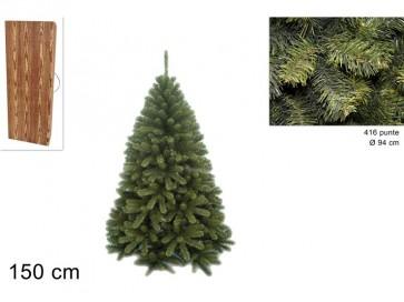 Albero di natale pino texano 150cm