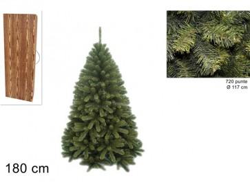 Albero di natale pino texano 180cm