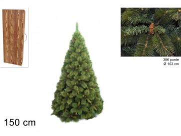 Albero di natale pino amsterdam 150cm
