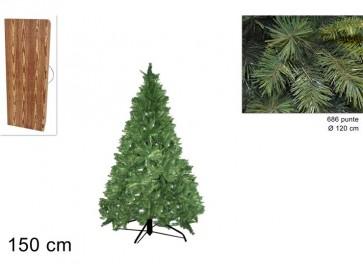 Albero di natale pino himalaya cm 150