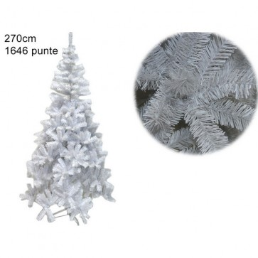 Albero natale abete bianco cm 270 1646 rami