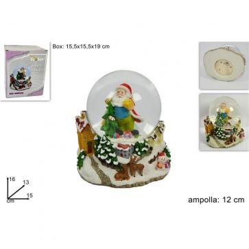 Ampolla carillon babbo natale 12 cmf88629