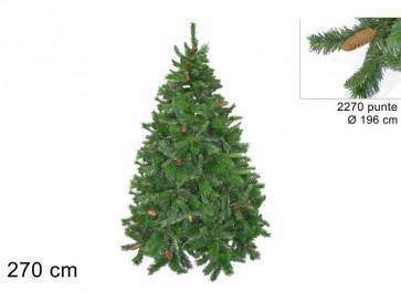 Albero di natale pino russo cm.270 2270 rami