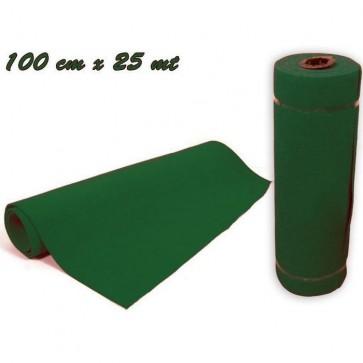 Rotolo passatoia tappeto verde 100 cm x 25 mt natale arredo party